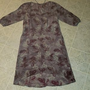 POETRY high end real silk dress